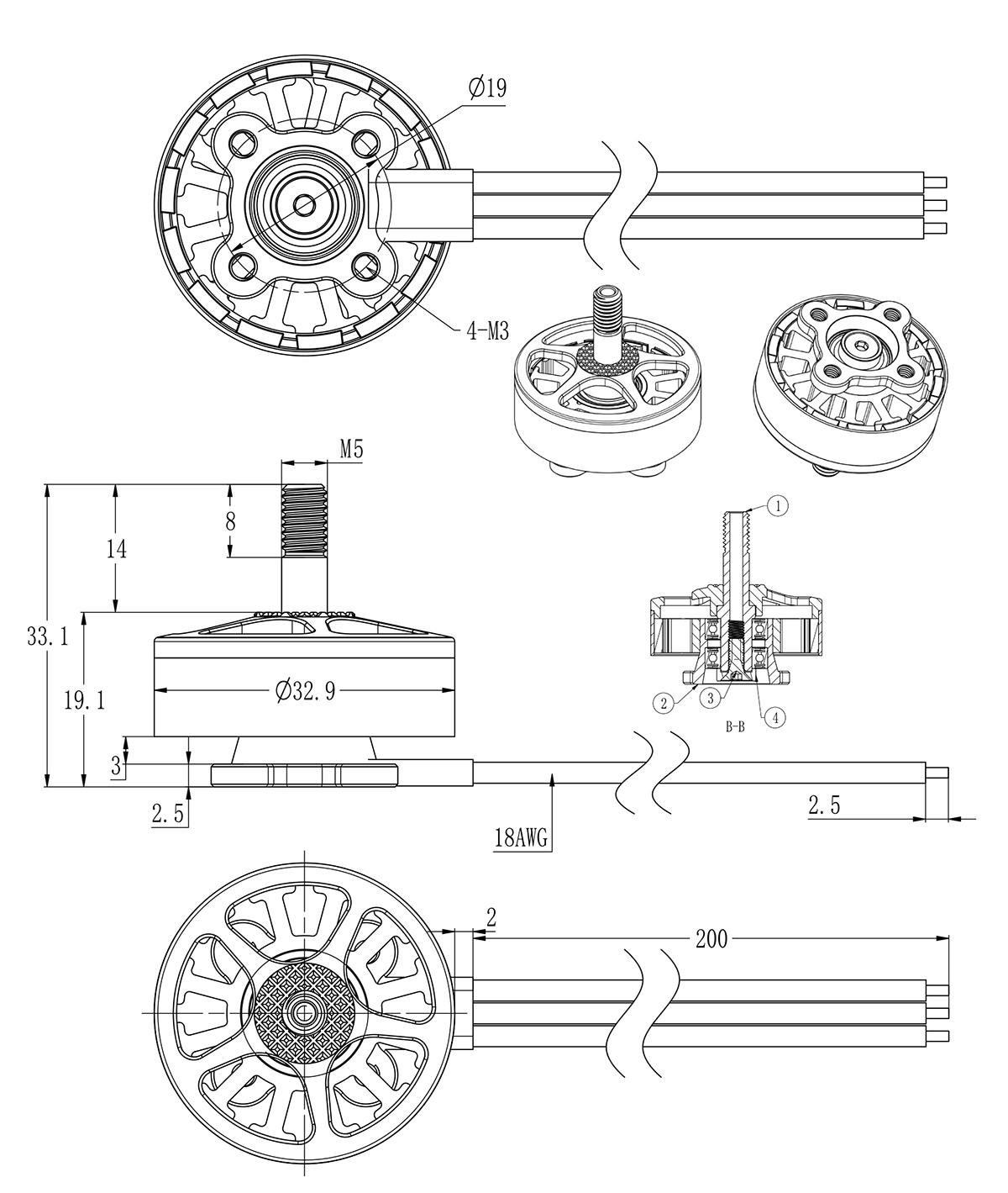 Brotherhobby 2806.5 motor